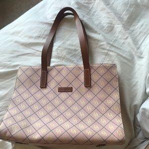 Pink Dooney and Bourke Shoulder Bag